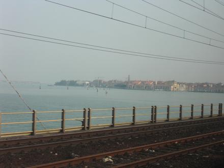 ヴェネツィア到着