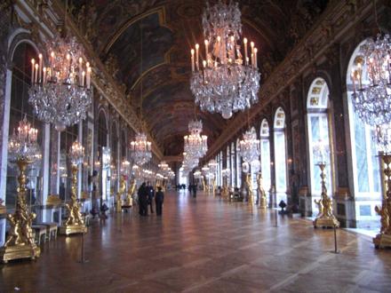 ヴェルサイユ宮殿 中身