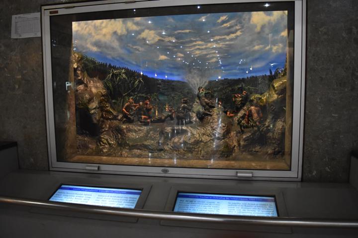 ジャカルタ歴史博物館の展示