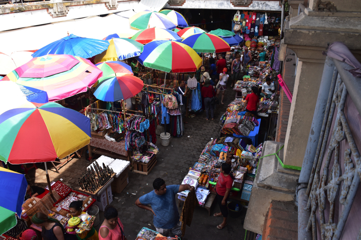 ウブド中央市場