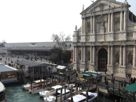 ヴェネツィア駅前