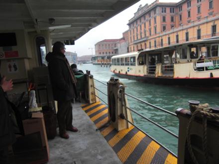 水上バスからの眺め