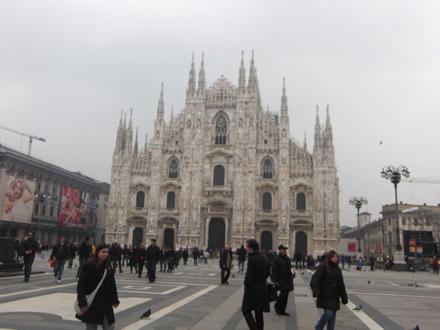 ミラノのドゥオーモ