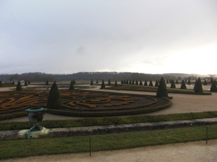 ヴェルサイユ宮殿 中庭